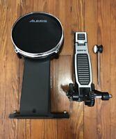 "Alesis 8"" Mesh Kick Pad w/Pedal NEW Bass Drum Electronic Kit Command DM10 Surge"
