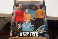 1996 BARBIE & KEN STAR TREK SET