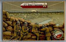 123° Reggimanto Fanteria Brigata Chieti Franchigia Privata WWI PC Viaggiata 1917