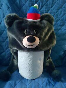 Pyeongchang 2018 Bandabi Fur Cap, rare olympics collectible!