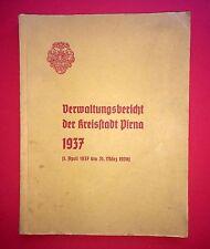 Verwaltungsbericht der Kreisstadt PIRNA von 1937       ( F13486