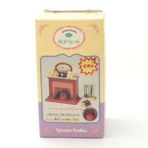 Sylvanian Families FIREPLACE SET KA-77 Calico Critters Epoch Japan 1996