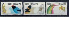 Brazilie mi 1368-1370 (1973) postfris - mnh- xx birds