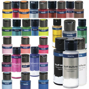 59ml Bottles Water Based Fabric Paint | Choice of Colours