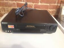 Tested Sony SLV-N50 VHS VCR Video Cassette Player Recorder HIFI Stereo