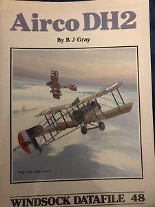 AIRCO DH2 - WIND-SOCK DATAFILE 48 - WW1 Magazine BJ Gray