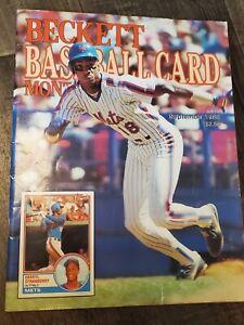 Beckett Baseball Card Monthly • Sept 1988 ⚾️ Darryl Strawberry & Chris Sabo ⚾️