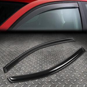 PAIR WINDOW VISOR RAIN/SUN SHADE SHIELD GUARD DEFLECTOR FOR 12-17 FIAT 500 1.4L