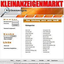 ★KLEINANZEIGENMARKT DELUXE PHP-PORTAL SCRIPT BANNER WEBSITE KLEINANZEIGEN MRR★