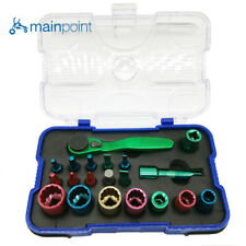 Mainpoint® 20 Piece Screwdriver Bits Socket Color Coded Multifunction Set Kit