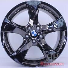 Original BMW 3er E90 E91 E92 E93 19 Zoll Felgen Satz Styling 311 Schwarz Chrom R