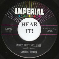Charles Brown XMAS BLUES 45 (Imperial 5902) Merry Christmas Baby /I Lost   VG++
