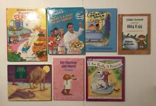 Lot of 7 Hardcover Children's Books - I Am Really A Princess, Cookbook, More