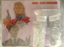 """Distinctive Dummies 2 pack- They Live - Nada and Alien Overlord 8"""" mego figures"""