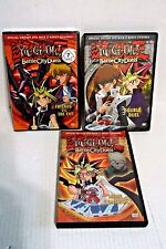 3 Yu-Gi-Oh DVDs Bundle, Battle City Duels -Vol. 5 6 7,Episodes 165-179 on 3 DVDS