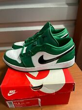 "Used Air Jordan 1 Low ""Pine Green"" Size 11"