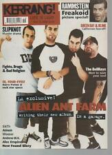 KERRANG MAGAZINE     ISSUE 903  MAY 11 2002  ALIEN ANT FARM    LS
