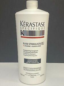 Kerastase Specifique Bain Stimuliste GL Energising Shampoo Fine,Thinning -34floz