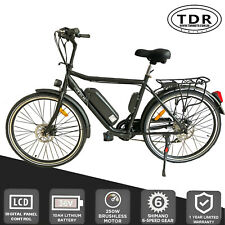 EBIKE Eelectric Bicycle Emountian Bike for City Tour Uber EASI Delivery Commuter