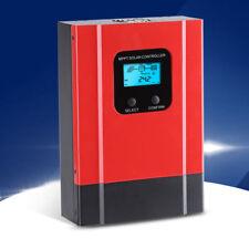 40A LCD MPPT Regulador Solar Controlador Carga de Batería 12V/24V/36V/48V DC130V