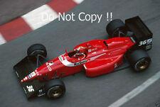 Alex Caffi Scuderia Italia Dallara 188 Grand Prix de Monaco 1988 photographie