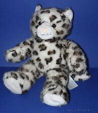 "BUILD A BEAR * Sparkly Snow Leopard Cat Soft Toy * 16"" (40cm) Tall *"