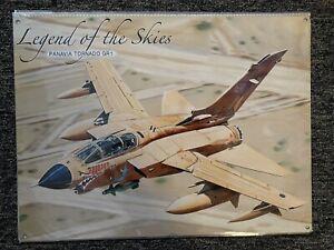 Legends Of The Skies Panavia Tornado GR1 Metal Sign 40cmx30cm New