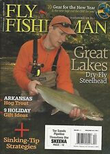 Fly Fisherman magazine Great Lakes steel head Hog trout Holiday gift ideas Tips