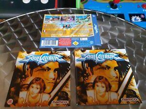 Soul Calibur - Sega Dreamcast - Genuine Manual & Inserts - No Game Disk