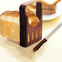 Practical Bread Cutter Loaf Toast Slicer Cutting Slicing Guide Kitchen Tool HT