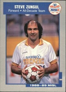 1989 Pacific MISL Soccer Steve Zungul   #11 SP20