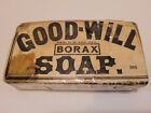 Antique Good-Will Borax Soap Bar Sealed