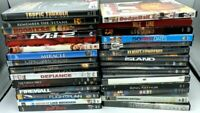 Lot of 30 Used DVDs Assorted Genres MoviesBulk DVD Lot Wholesale Free ship