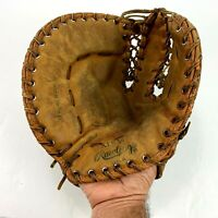 The Rawlings Trapper XFB50 Baseball Glove Left Handed Hinged Pad 100% Nylon Sewn