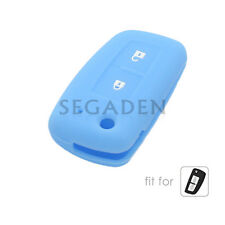 Silicone Case Cover fit for NISSAN Qashqai Juke Tiida Remote Key Fob 2 Button LB