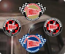 4x Stück Holley Sticker Aufkleber Vergaser Autocollante Hot Rod Hemi Mopar V8 S1