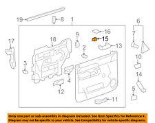 GM OEM Front Door-Lock Switch 10363353