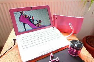 Sony Vaio W11 Pink Rosa l 10 Zoll HD l AKKU NEU l EXTRAS NEU l Windows 7 Pro