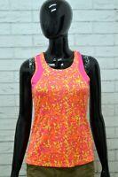Maglia CHAMPION Donna Taglia XL Maglietta Canotta Shirt Woman Cotone Fitness