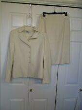Tahari Arthur S. Levine Women's 2 Piece Career Skirt Blazer Suit Size 8
