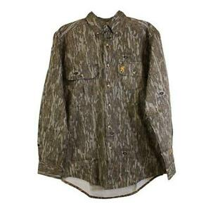 Browning Wasatch-CB Long Shirt Sleeve Mossy Oak Bottomland