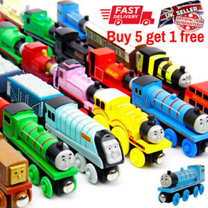 Wooden Trains Track Tank Engines & Tender for Thomas & Friends BRIO COMPATIBLE