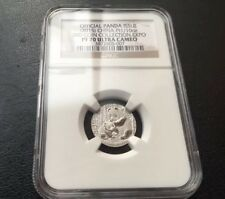 NGC PF70 2015 3RD Panda coin Collection Expo Platinum Medal 1/10oz Mintage:99