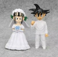 Dragon Ball Dragonball Figuren Set Anime Manga Son Goku Chichi Hochzeit Wedding