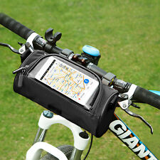 Stroller Front Bag Cycling Bike Front Bag Mobile Phone Touch Screen Travel