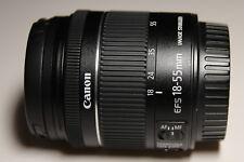 Canon EF-S 18-55mm 1:4,0-5,6 IS STM Objektiv (58mm Filtergewinde) schwarz -NEU