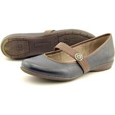 Naturalizer Garrison Women US 10 Blue Mary Janes Pre Owned 3900