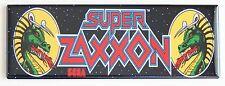 Super Zaxxon Marquee FRIDGE MAGNET arcade video game header
