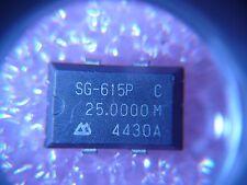Seiko Crystal Oscillator Xo 25Mhz 5V Ttl 4-Pin Smd * New *