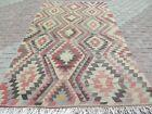 """Vintage Turkish Kilim Rug, Area Rugs, Large Rug, Anatolian Kelim 70""""X122"""" Carpet"""
